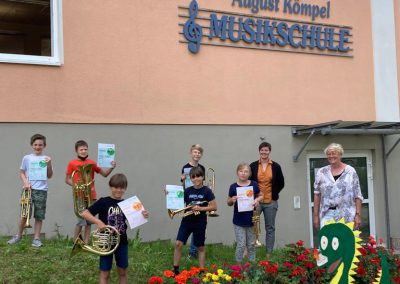 Nachwuchsmusiker Musikschule